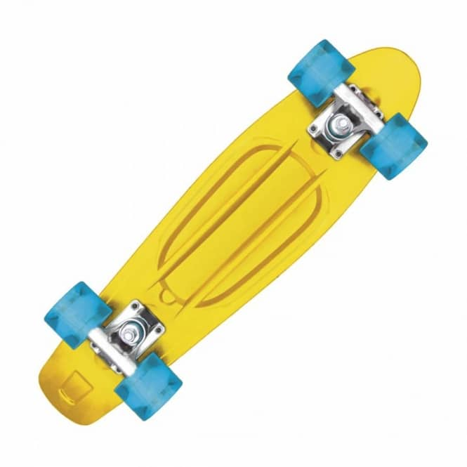 Cliche Skateboards Cliche Trocadero Cruiser Skateboard Yellow