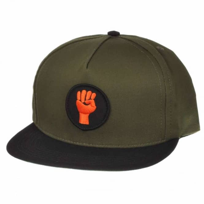 Cliche Skateboards Cliche Viva Snap Back Cap Army Green