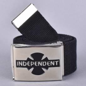 Clipped Web Belt - Black