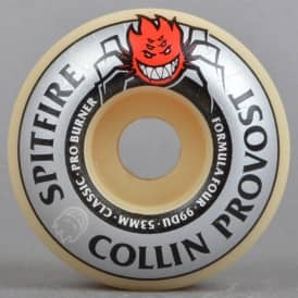 Collin Provost Burner 99D Classic Formula Four Skateboard Wheels 53mm