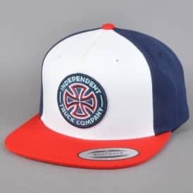 Combi Snapback Cap - Red/Navy