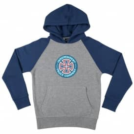 Combi TC Raglan Youth Hoodie - Navy/Dark Heather