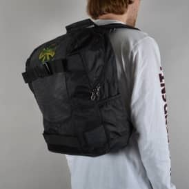 Concealed Skate Backpack - Black