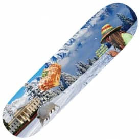 Confusing Tourism Snow Skateboard Deck 8.5
