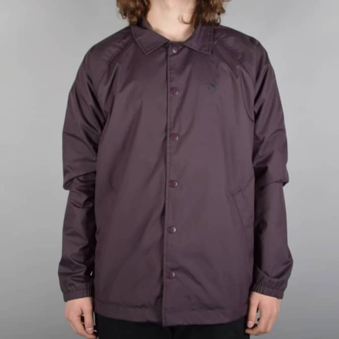 5af31e50032f Converse Cons Ripstop Coach s Jacket - Black Cherry - SKATE CLOTHING ...