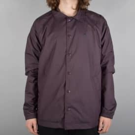 Cons Ripstop Coach's Jacket - Black Cherry