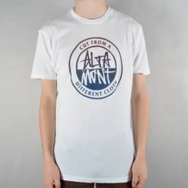 Contrast Stacked Skate T-Shirt - White