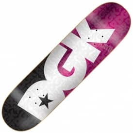 Contrast Team Pink Skateboard Deck 8.25