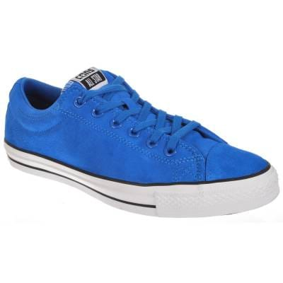 converse converse cons cts ox blue white black skate shoes
