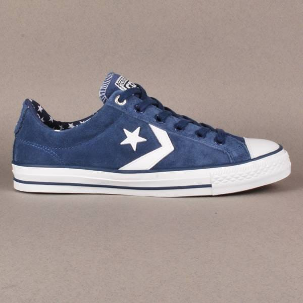 ... sweden converse cons star player ls ox skate shoes ensign blue white  a8742 dc230 77265eedb