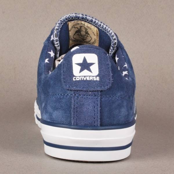 87014acbe59 Converse Cons Star Player LS OX Skate Shoes - Ensign Blue White ...