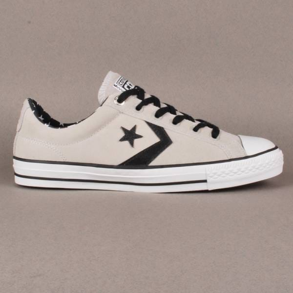 0f5cdc5c0f8306 Converse Cons Star Player LS OX Skate Shoes - Oyster Grey White ...