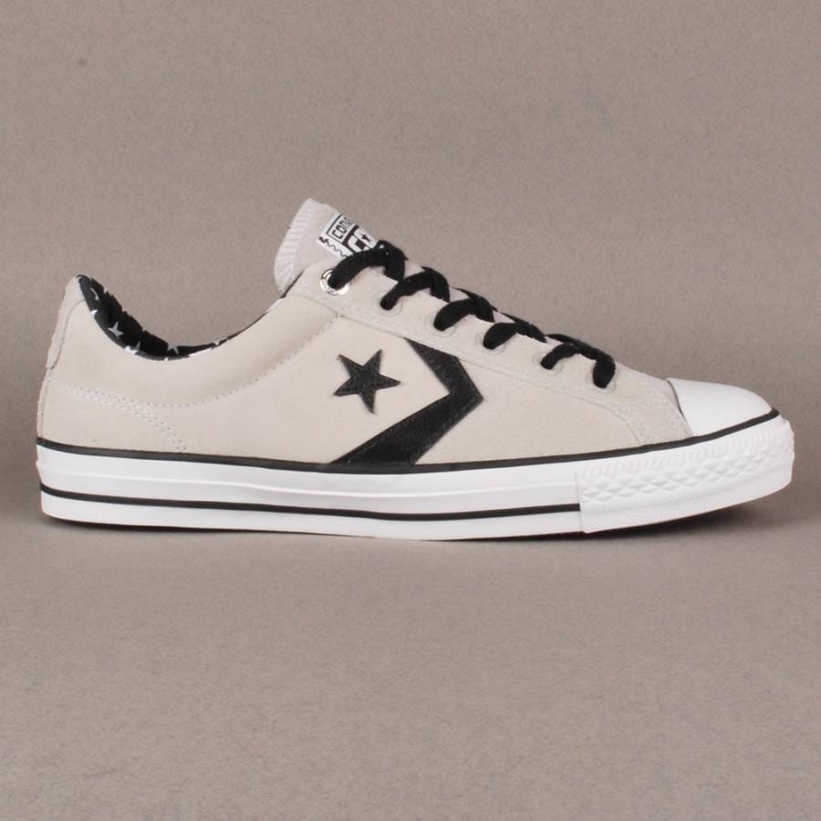 Converse CONS Star Player OX White Trainers