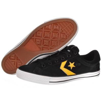 cadc799f0f200b Converse Star Player S II OX Black L.Gold Skate Shoes - Mens Skate ...