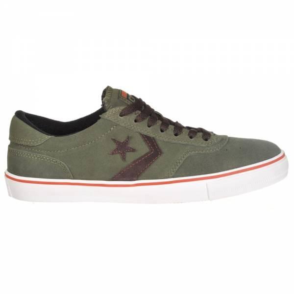 Converse Trapasso Pro II OX Skate Shoes - Grape Leaf/White/Mole