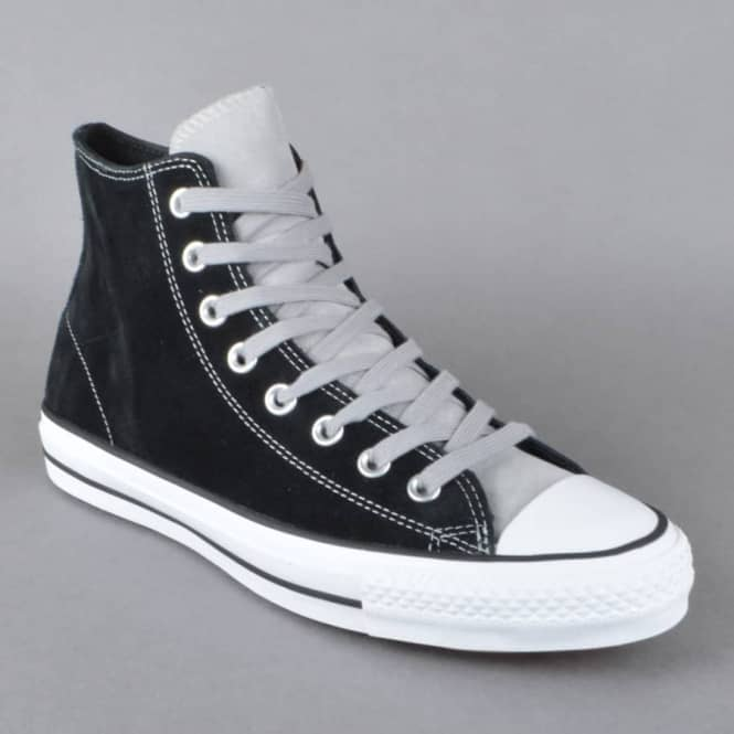 41135f73d5d2 Converse CTAS Pro Hi Skate Shoes - Black Dolphin - SKATE SHOES from ...