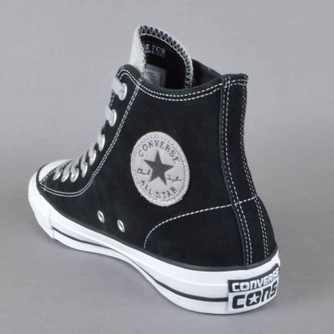 c8621157235d32 Converse CTAS Pro Hi Skate Shoes - Black Dolphin - SKATE SHOES from ...