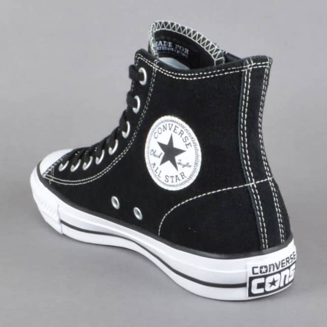 59ee758fa81 Converse CTAS Pro Hi Skate Shoes - Black White - SKATE SHOES from ...