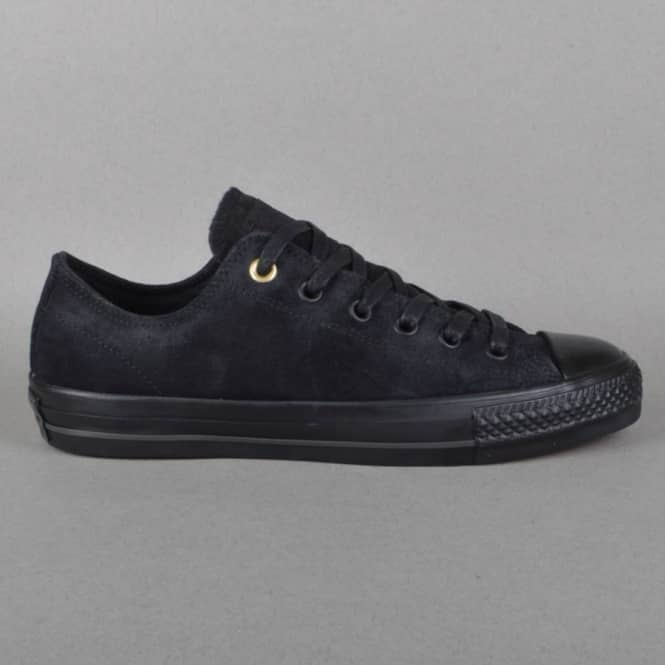 Converse CTAS Pro OX Skate Shoes - Black/Black
