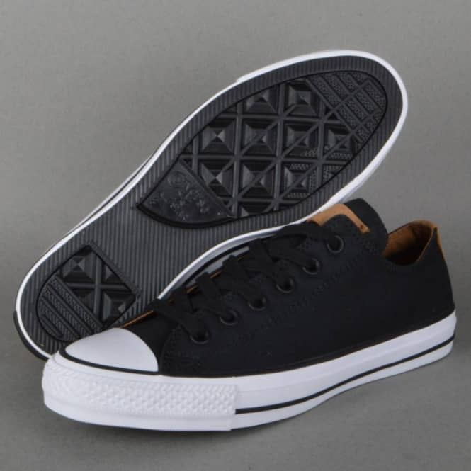 Converse CTAS Pro OX Skate Shoes - Black Rubber - SKATE SHOES from ... e35c45c170a4