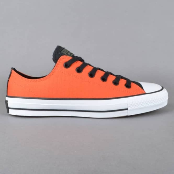 Converse CTAS Pro OX Skate Shoes - My Van Is On Fire