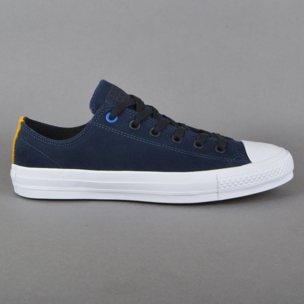 2d85aa7a4767 Converse CTAS Pro Suede OX Skate Shoes - Obsidian Black White ...
