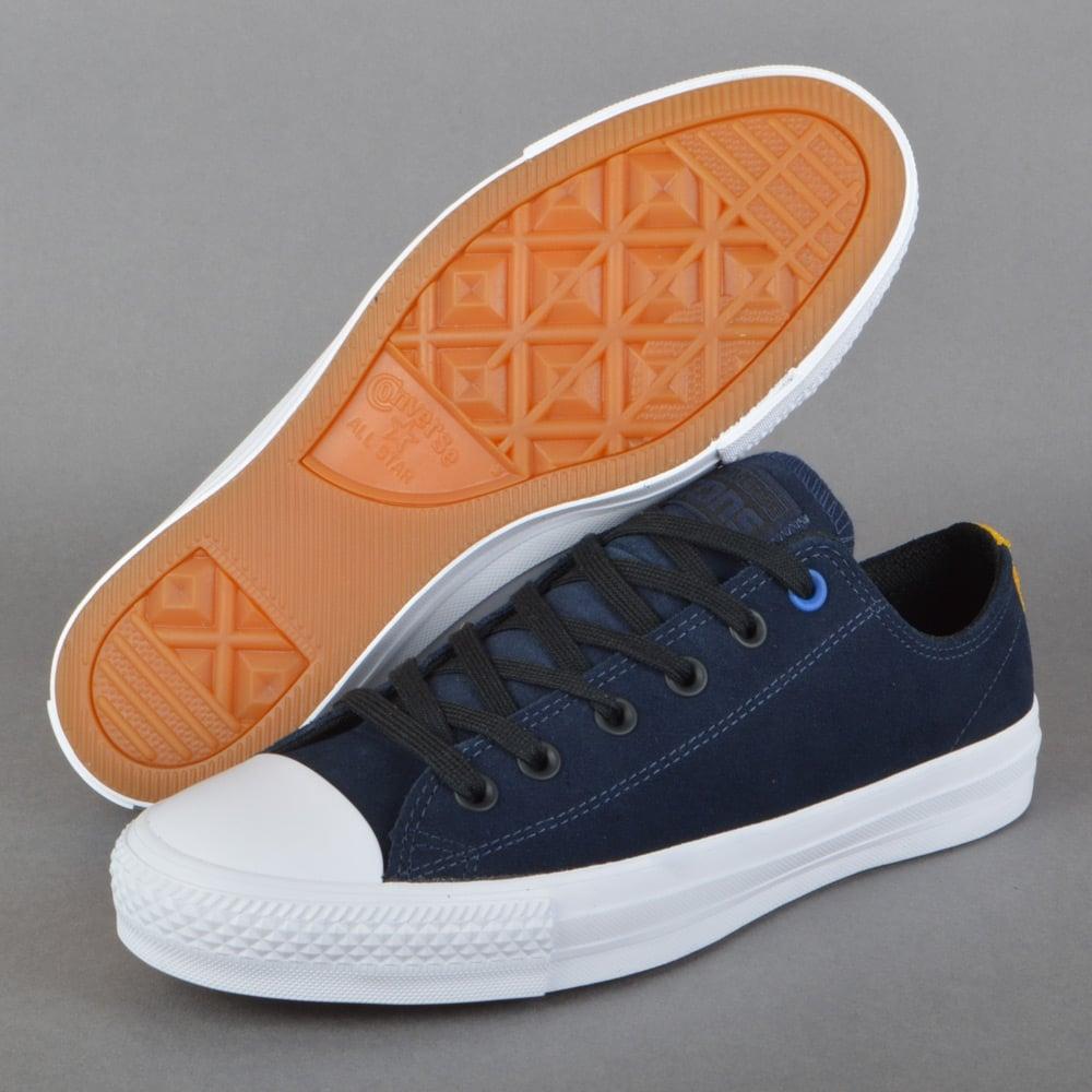 ca490753ecc Converse CTAS Pro Suede OX Skate Shoes - Obsidian Black White ...