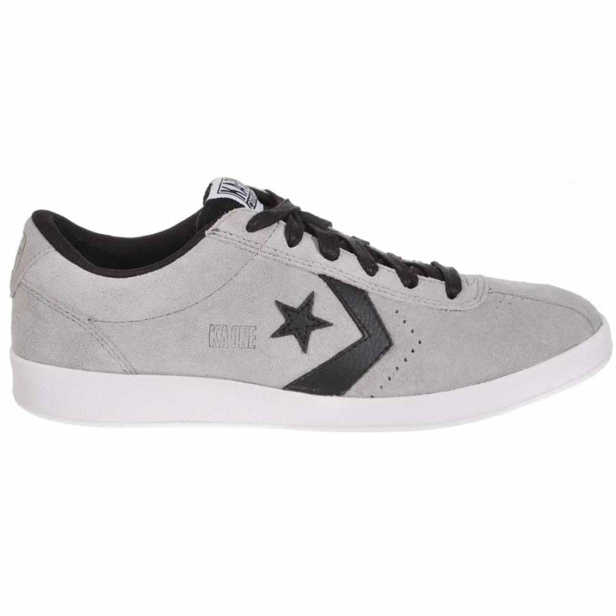 Office Shoes - Converse All Star Ox Low Grey Marl/white Rand Smu Train