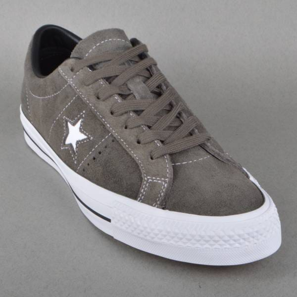 Tropical Nube Permitirse  Converse One Star Pro Skate Shoes - Charcoal/Black - SKATE SHOES ...