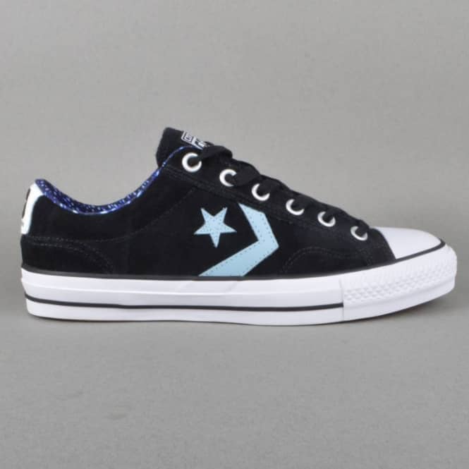 Converse Star Player Pro O Skate Shoes - Black/Skye H