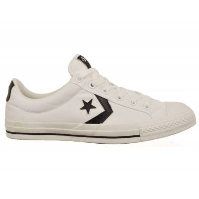 c9026012d6adc0 Converse Star Player S 2 OX White Black Skate Shoes - Mens Skate ...