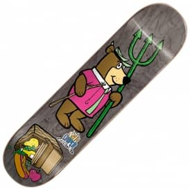 Almost Skateboards Cooper Wilt Yogi Bear Picnic Skateboard Deck 8.125''
