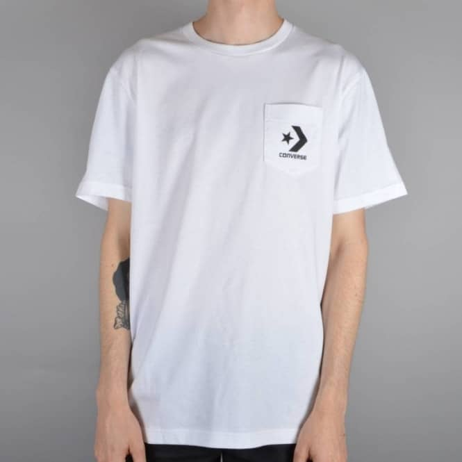 Converse Core Pocket Skate T-Shirt - White - SKATE CLOTHING from Native  Skate Store UK