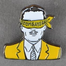 Corp Guy Enamel Pin Badge - Yellow