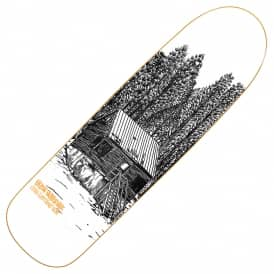 Heroin Skateboards Craig Questions Cabin Skateboard Deck 9.0""