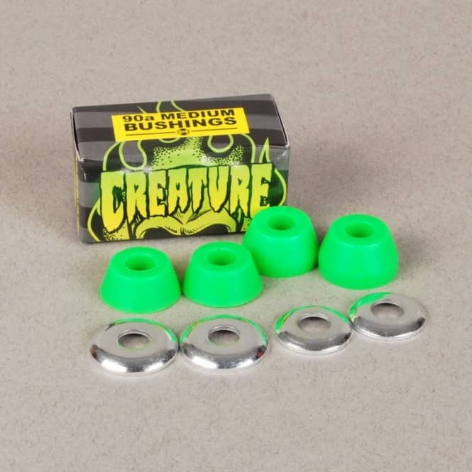 Creature Skateboards Creature CSFU Medium 90a Truck Bushings - Green