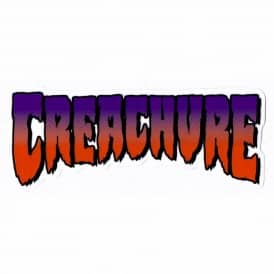 Creature Skateboards Creature Gray Market Skateboard Sticker
