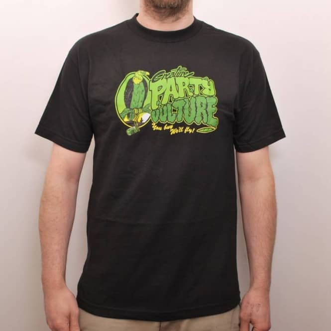 Creature Skateboards Creature Party Vulture Skate T-Shirt Black