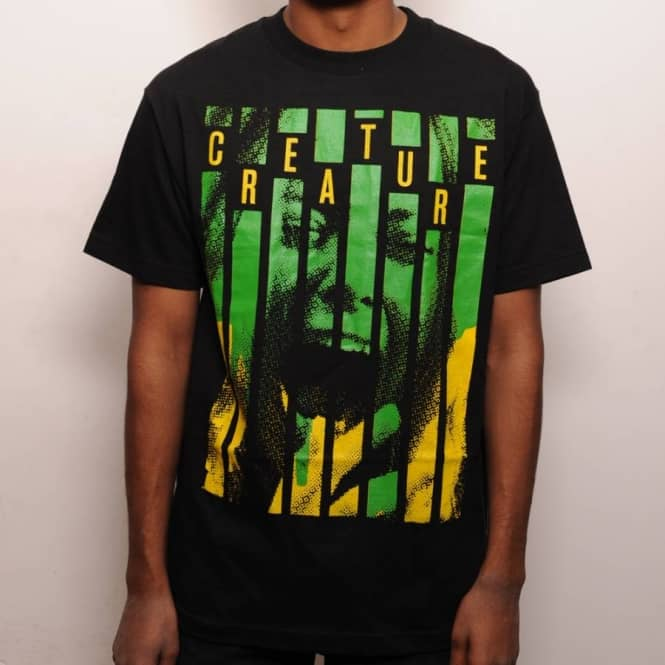 Creature Skateboards Creature Screams T-Shirt Black