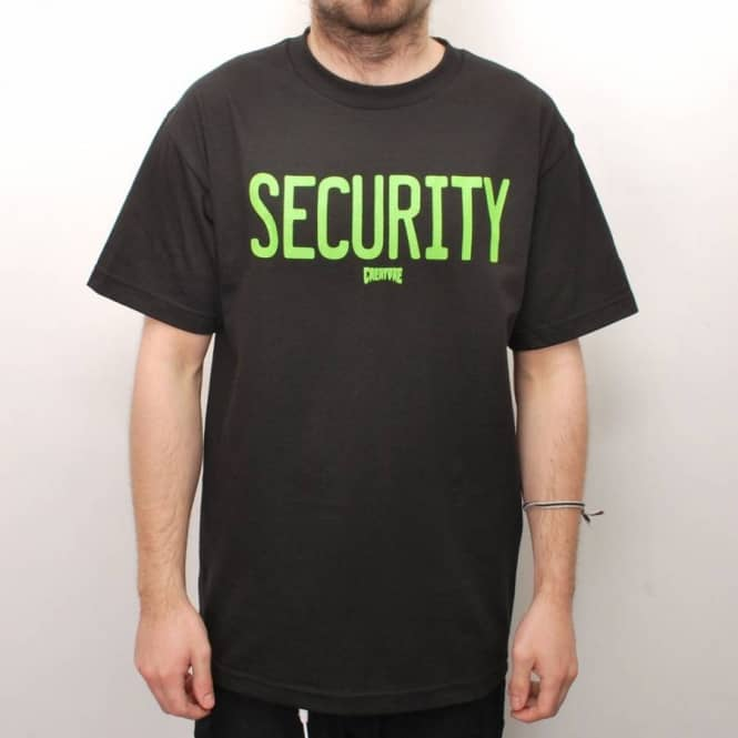 Creature Skateboards Creature Security Skate T-Shirt - Black