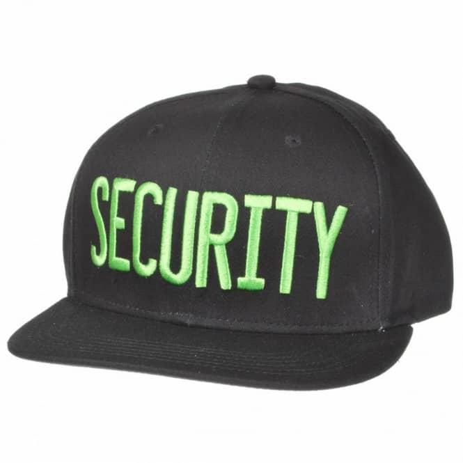 Creature Skateboards Creature Security Snapback Cap - Black