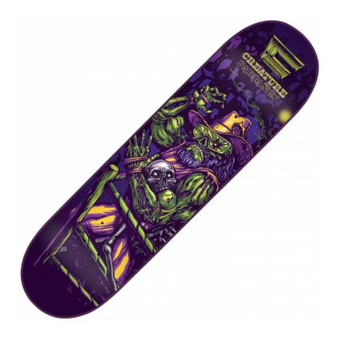 Creature Skateboards Al Partanen Creaturemania Skateboard Deck 8.3''