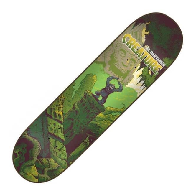 Creature Skateboards Al Partanen Primitive Skateboard Deck 8.2