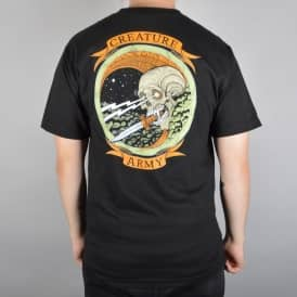 Creature Skateboards Army Skate T-Shirt - Black