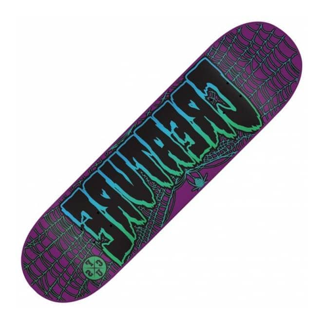 Creature Skateboards Ass Backwards MS Purple Skateboard Deck 8.2''