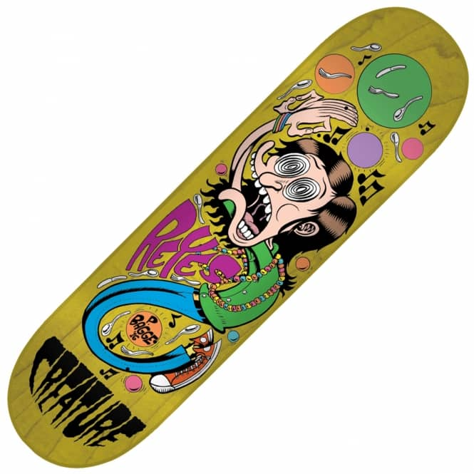 Creature Skateboards Bagge It Reyes Skateboard Deck 8.0