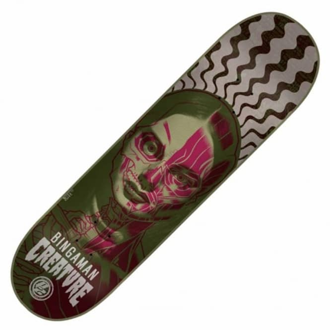 Creature Skateboards Bingaman Anatomy P2 Skateboard Deck 8.375''
