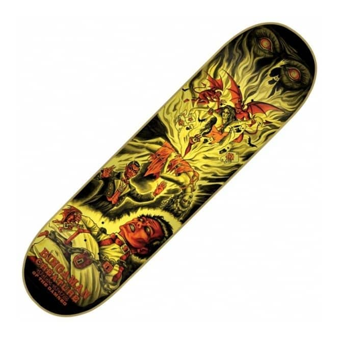 Creature Skateboards Bingaman Circus Of the Damned Skateboard Deck 8.375
