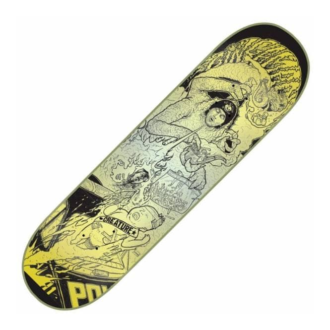 Creature Skateboards Bingaman Rumble Skateboard Deck 8.375''