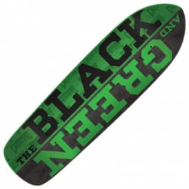 Creature Skateboards Black And Green Punk Point Skateboard Deck 8.5""